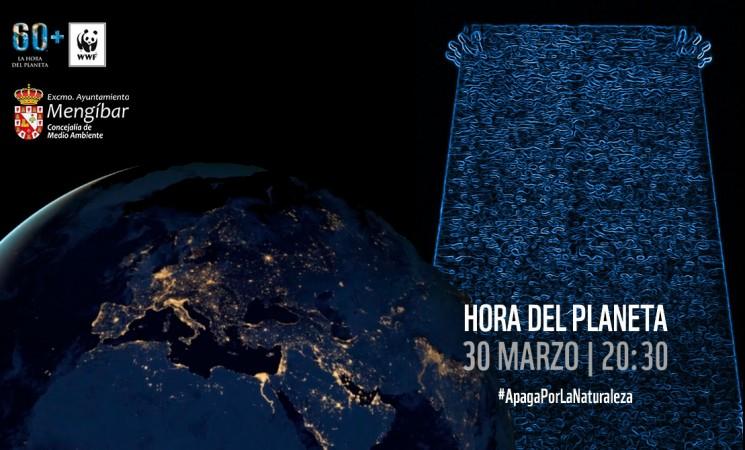 El Ayuntamiento de Mengíbar se suma a la Hora del Planeta 2019