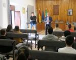 Presentación del nuevo curso de socorrismo, con compromiso de contratación, becado por el Ayuntamiento de Mengíbar para 15 jóvenes