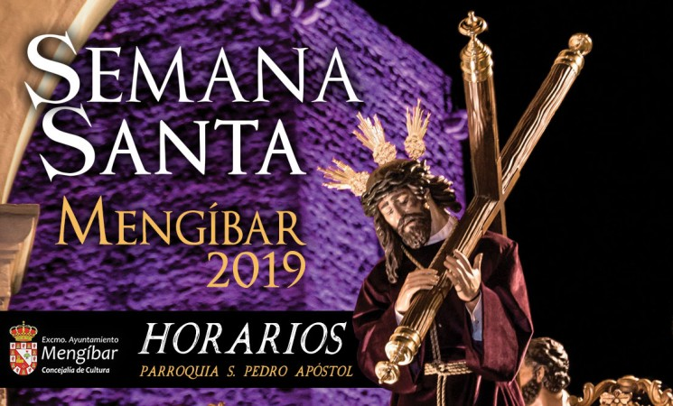 Semana Santa 2019: Horarios de procesiones y cultos de la Parroquia de San Pedro Apóstol de Mengíbar