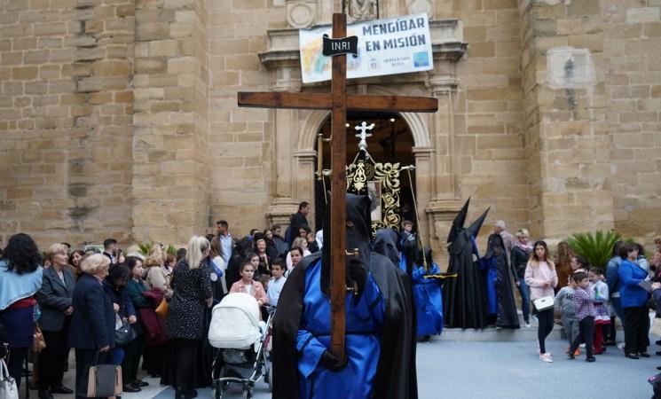 Semana Santa Mengíbar 2019 - Miércoles Santo - Fotografías y vídeos de la procesión del Señor de las Lluvias y Virgen de la Amargura