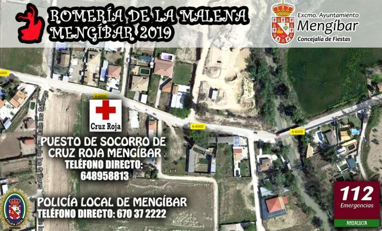 Dispositivo de seguridad y emergencias para la Romería de Mengíbar 2019