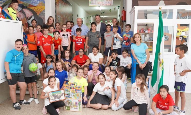 Una alumna del Colegio José Plata es premiada en el Concurso Dibuja tu Olivar Vivo