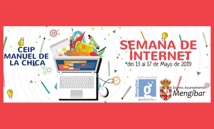 El Centro Guadalinfo de Mengíbar organiza la Semana de Internet, del 13 al 17 de mayo de 2019