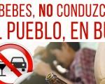 Romería de Mengíbar 2019: Campaña 'Si bebes, no conduzcas. Al pueblo, en bus'