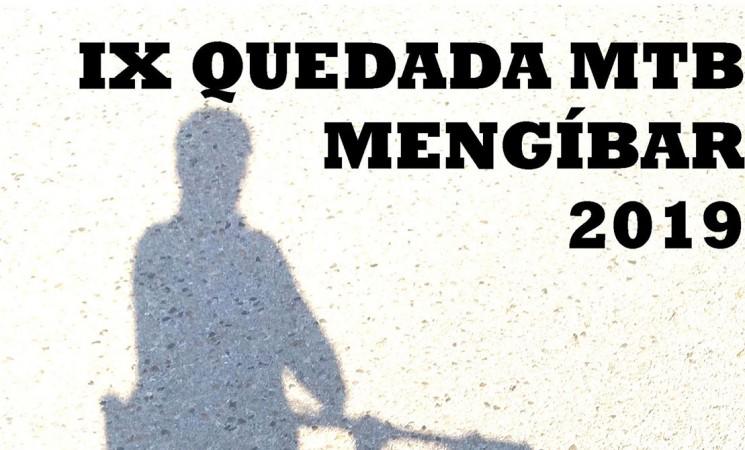 Pórtico: La IX Quedada MTB Mengíbar 2019, el domingo 7 de julio