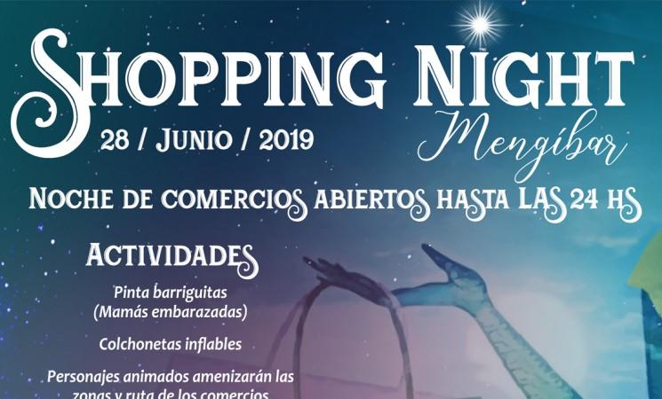 Shopping Night Mengíbar, el próximo viernes 28 de junio de 2019
