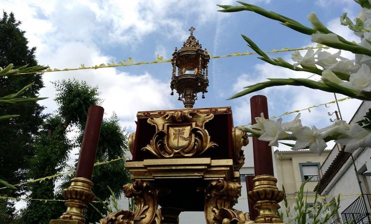 Itinerario de la procesión del Corpus Christi en Mengíbar el próximo 23 de junio de 2019