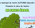 El grupo municipal de teatro Iliturgi representará la obra 'Mi amigo árbol' el próximo 17 de junio de 2019