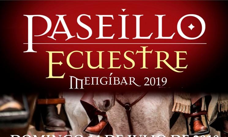 Paseíllo Ecuestre por Mengíbar, el próximo 14 de julio de 2019
