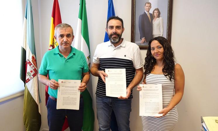 """El Ayuntamiento de Mengíbar renueva su """"apoyo total"""" al Software Delsol Mengíbar FS para la nueva temporada 2019-2020"""
