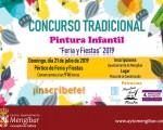 El Tradicional Concurso Infantil de Pintura de Mengíbar, el próximo 21 de julio de 2019