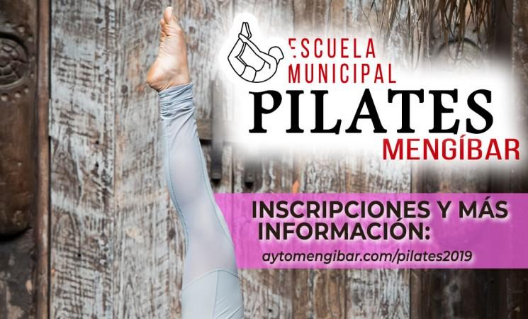 El Ayuntamiento de Mengíbar abre la inscripción para la Escuela Municipal de Pilates 2019/2020