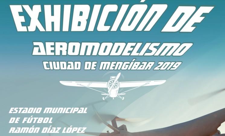 Exhibición de Aeromodelismo Ciudad de Mengíbar 2019, el próximo 21 de septiembre