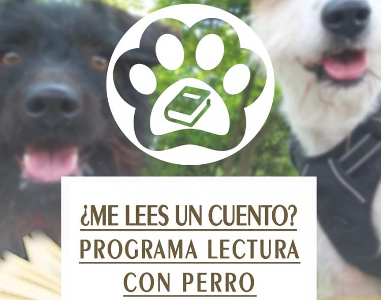 Taller Municipal '¿Me lees un cuento? Programa de lectura con perro', en Mengíbar 2019/2020