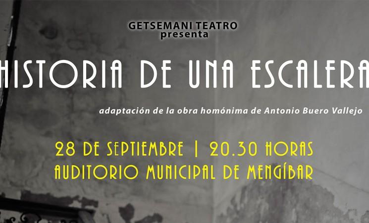Getsemaní Teatro estrenará 'Historia de una escalera' el próximo 28 de septiembre de 2019 en el Auditorio Municipal de Mengíbar