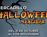 Mercadillo Halloween en Mengíbar, del 31 de octubre al 3 de noviembre de 2019
