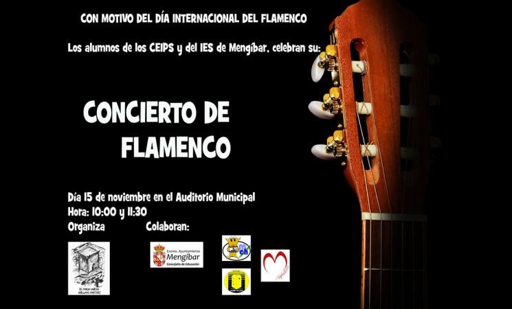 Concierto con motivo del Día Internacional del Flamenco en el Auditorio de Mengíbar, este viernes