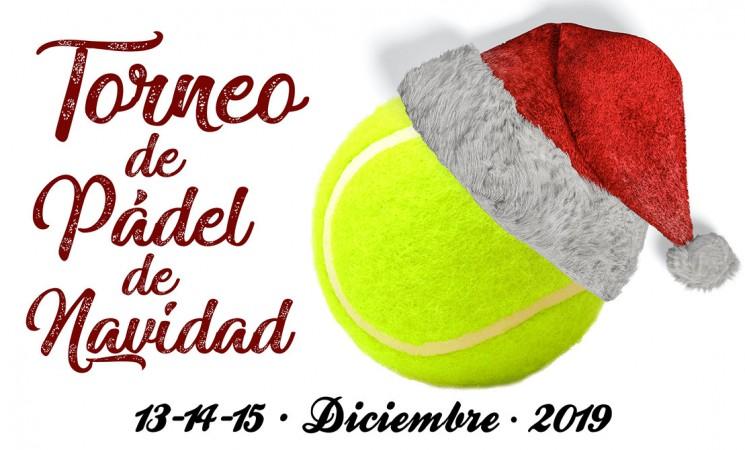 Torneo Navideño de Pádel en Mengíbar del 13 al 15 de diciembre de 2019