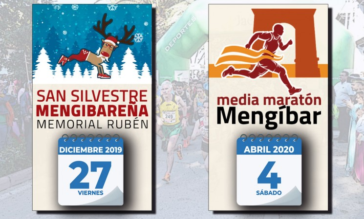 La V San Silvestre Mengibareña-Memorial Rubén será el 27 de diciembre de 2019, y la II Media Maratón de Mengíbar 'Geolit-Arco de Jano', el 4 de abril de 2020