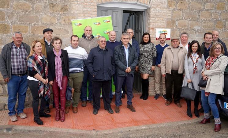 Inauguración de la nueva oficina de la COAG Jaén cedida por el Ayuntamiento de Mengíbar