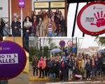 Mengíbar coloca señales viales contra la violencia de género para sensibilizar y concienciar a la ciudadanía