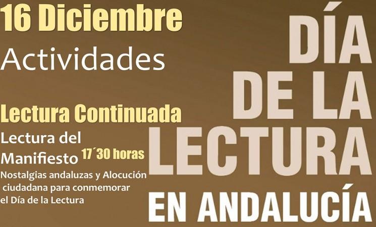 Día de la Lectura en Andalucía en la Biblioteca Municipal Ossigi de Mengíbar