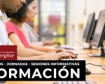 Sesión informativa sobre el programa de formación para la inserción laboral Proempleo 7 en el Centro Guadalinfo de Mengíbar