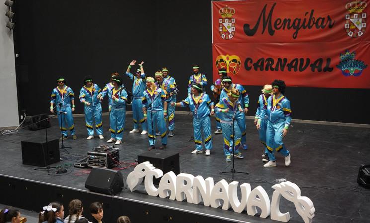 Carnaval Mengíbar 2020 - Letras de la chirigota 'Con 40 y divorciao, que me quiten lo bailao'