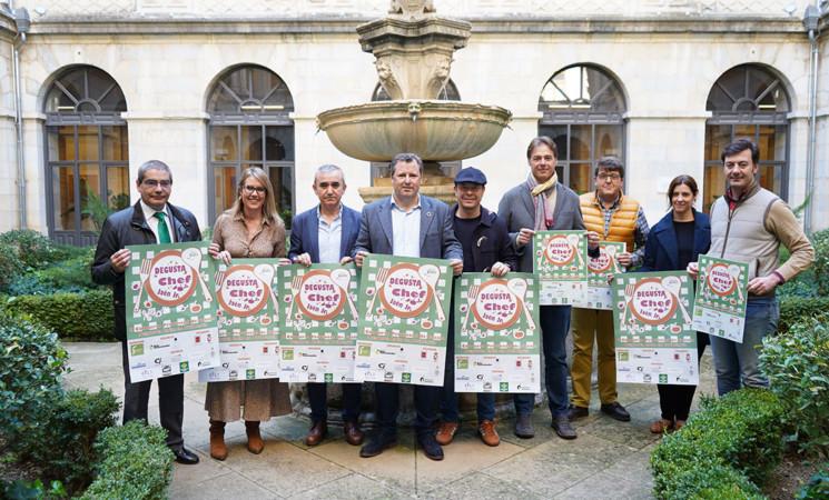 Mengíbar acogerá la semifinal del II Concurso Provincial de Cocina Degusta Jaén en Primaria 'Degusta Chef Jaén Júnior'
