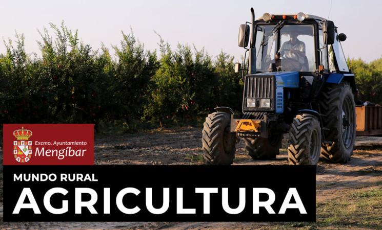 Coronavirus: Agricultores de Mengíbar participarán con sus tractores en las tareas de desinfección de las calles del municipio