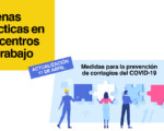 Coronavirus: Guía de buenas prácticas en los centros de trabajo frente al COVID-19
