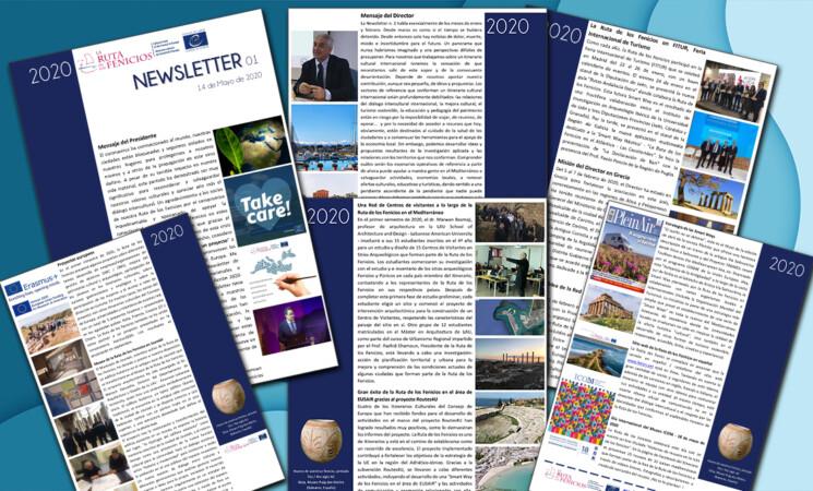 La Ruta de los Fenicios lanza un boletín periódico con información sobre el itinerario cultural del Consejo de Europa
