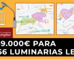 El Ayuntamiento de Mengíbar instala 366 luminarias LED con una inversión de 169.000 euros