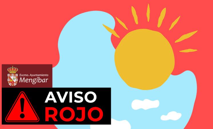 Aviso de nivel rojo (riesgo alto) por altas temperaturas en la provincia de Jaén