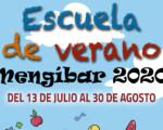 Escuela de Verano Mengíbar 2020: inscripciones del 2 al 8 de julio