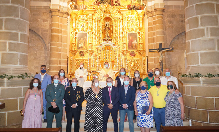 Misa en honor de Santa María Magdalena, patrona de Mengíbar, con motivo de su festividad (22 de julio de 2020)