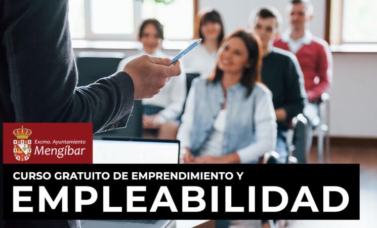 Curso gratuito de empleabilidad y emprendimiento para personas desempleadas en Mengíbar (inscripciones abiertas hasta el 25/09/2020)
