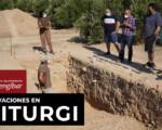 Mengíbar en los medios: Juan Pedro Bellón explica algunos detalles de las recientes excavaciones en la ciudad íbera de Iliturgi en el Cerro de La Muela