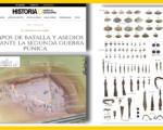 El Oppidum de Iliturgi en Mengíbar y los restos del asedio de Escipión el Africano, en 'Historia National Geographic'