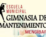 El Ayuntamiento de Mengíbar abre la inscripción para la Escuela Municipal de Gimnasia de Mantenimiento 2020/2021