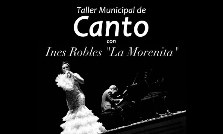 Nuevo Taller Municipal de Canto con Inés Robles 'La Morenita' en Mengíbar