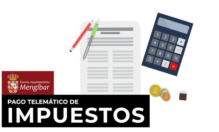 Pago de impuestos municipales y calendario de tributos