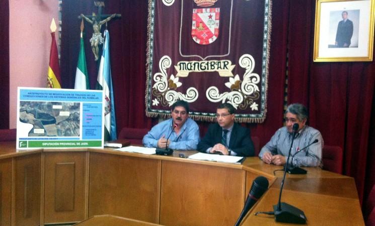 Diputación invertirá 550.000 euros en un proyecto alternativo para garantizar el suministro en la comarca de Mengíbar