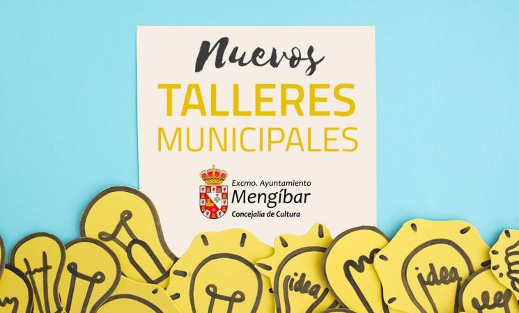 Nuevos Talleres Municipales de Mengíbar para el curso 2018/2019