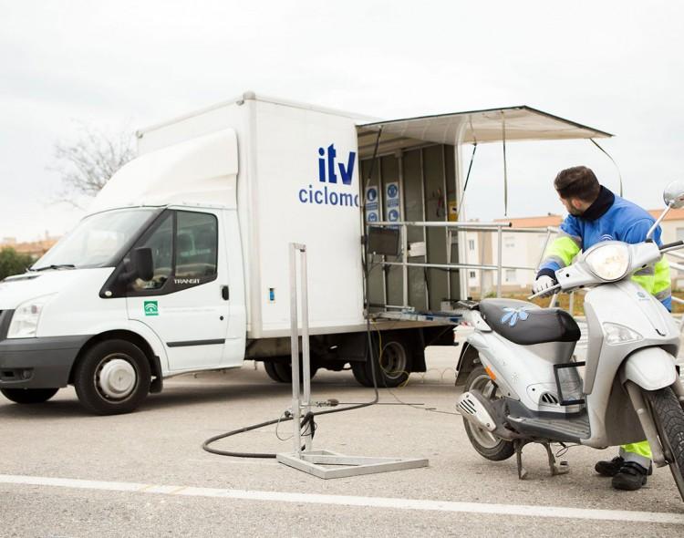 ITV móvil para ciclomotores en Mengíbar el próximo 24 de julio de 2020