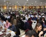 Aplauso multitudinario a Abriendo Camino, que recauda 15.340 euros en su XV Cena de los Enamorados