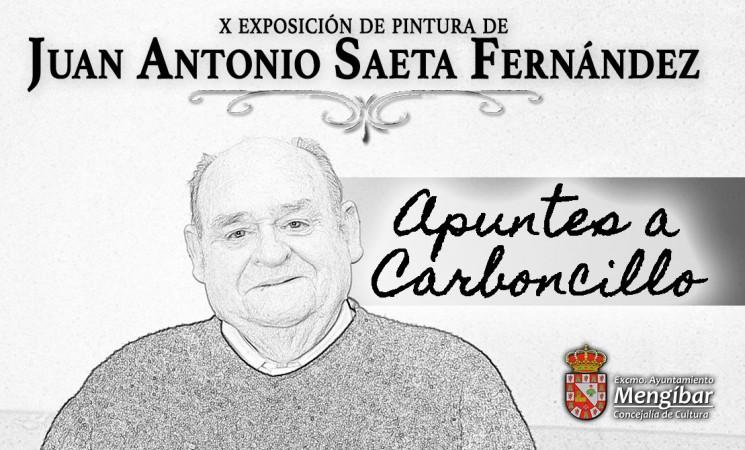 'Apuntes a carboncillo', décima exposición de Juan Antonio Saeta