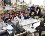 Radio escolar en el Colegio Manuel de la Chica