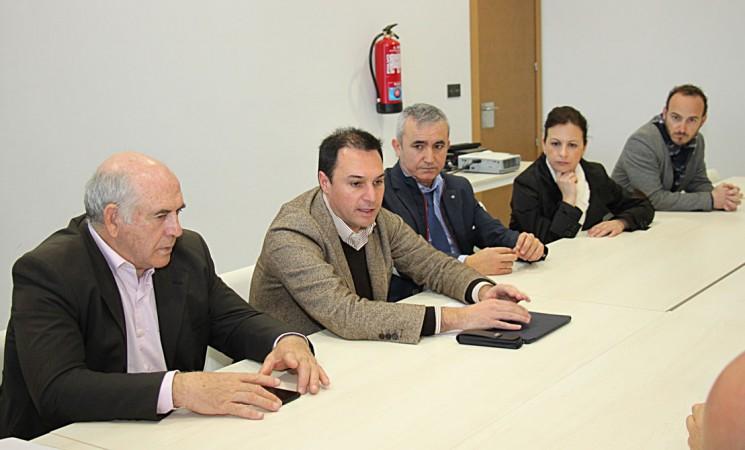 Mengíbar acoge la reunión de los Grupos de Desarrollo Rural de Jaén