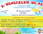 Festival a beneficio de ALES, el domingo 2 de abril